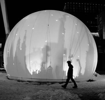 Snow Globe 5 by Danielle Bedard
