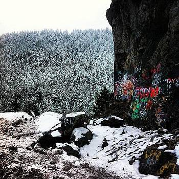 #snow #graffiti #love #snowboarding by Julia Goldberg
