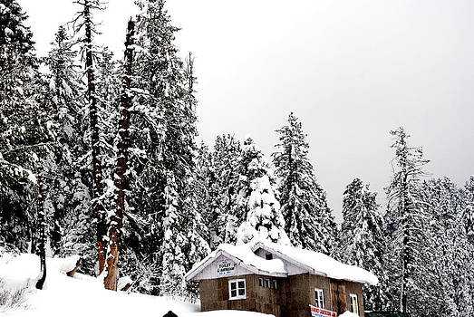 Snow House- Gulmarg- Kashmir- India- Viator's Agonism by Vijinder Singh