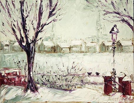 michaelalonzo   kominsky - Snow in Hamburg Paint Along with Nancy PBS