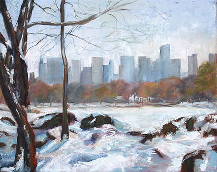 Snow In The City by Joan Wulff