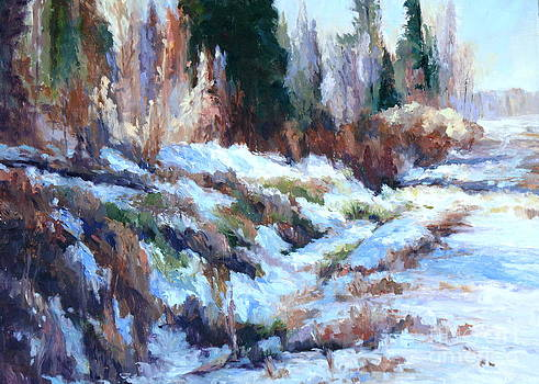 Snow in the Country by Virginia Dauth
