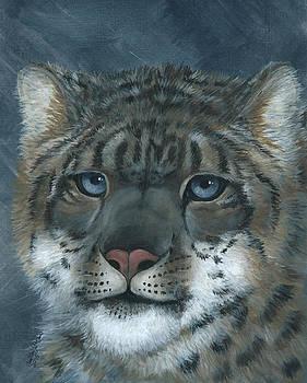 Snow Leopard by Christine StPierre