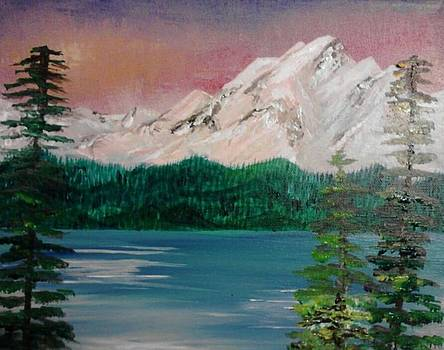 Snow Mountains by Megan Hughes