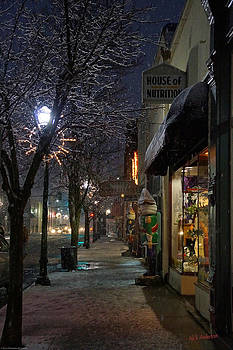 Mick Anderson - Snow on G Street 3 - Old Town Grants Pass