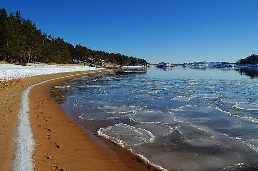 Snow on the Beach by Sonya Kanelstrand