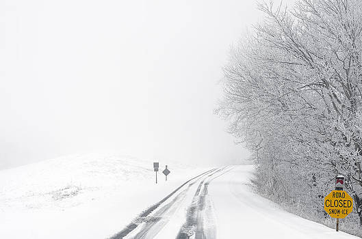 Snow on the Blue Ridge Parkway #3 by Greg Reed