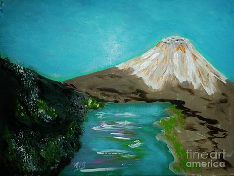Snow on the Mountain by Marie Bulger