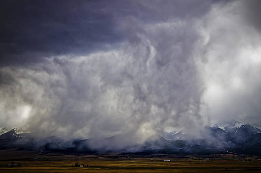 Snow on the Rockies by Greg Reed