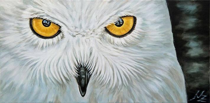 Snow Owl by Nicole Zeug