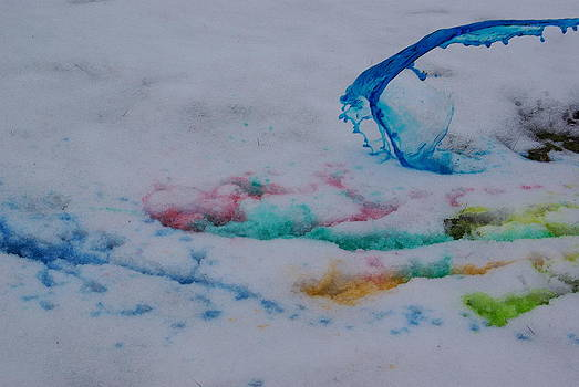 Snow Painting by Lindy Whiton