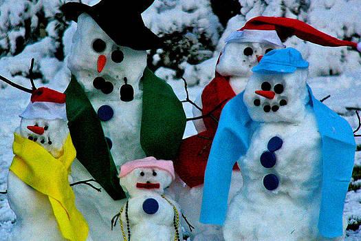 Snow People by Deborah Willard