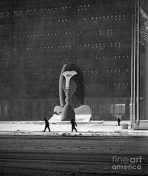 Snow Picasso  by Martin Konopacki