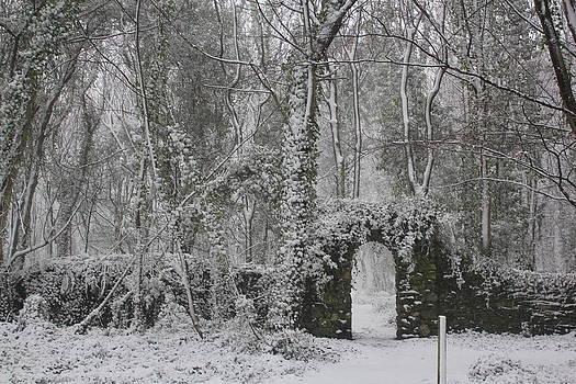 Snow regalia- Holyhead by Jenny A Jones
