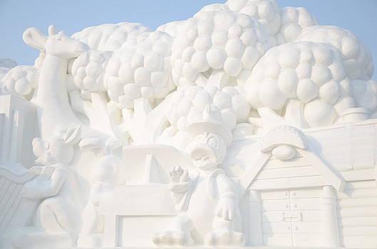 Snow Sculpture by Brett Geyer