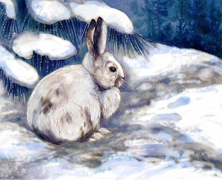 Peggy Wilson - Snow Shoe Rabbit in Winter