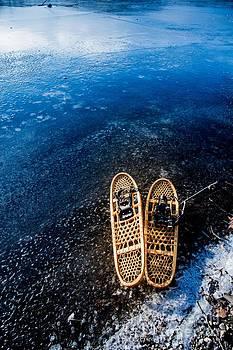Snow Shoes 4 by Jim DeLillo