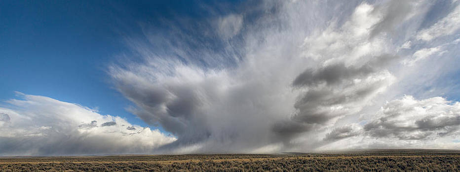 Nathan Mccreery - Snow Squall  Rock Springs Wyoming