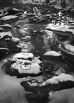 Snow Stream by Daniel Rogers