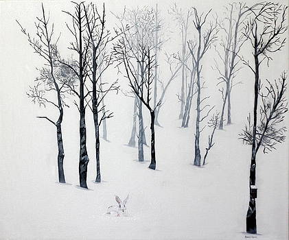 Snow Trees by Robert Crooker