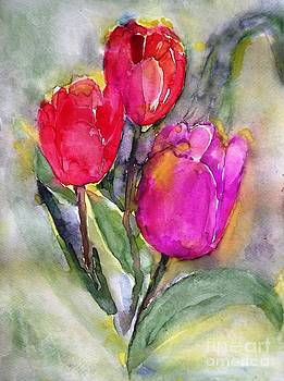 Snow tulips by Hedwig Pen