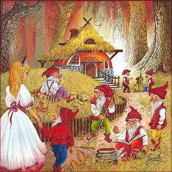 Snow White and the Seven Dwarfs by Anna Ewa Miarczynska