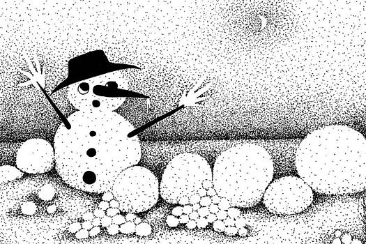 Snowball Fight by Joy Bradley