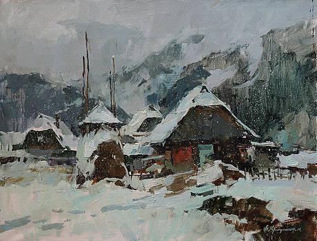 Snowfall by Aleksander Kryushyn