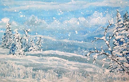 Snowfall by Jeanette Stewart