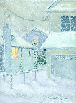Snowfall by Marguerite Chadwick-Juner