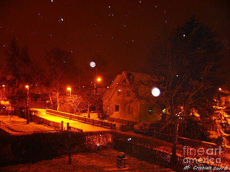 Snowing in Sweden by Mada Lina