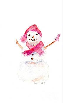 Claire Bull - Snowman