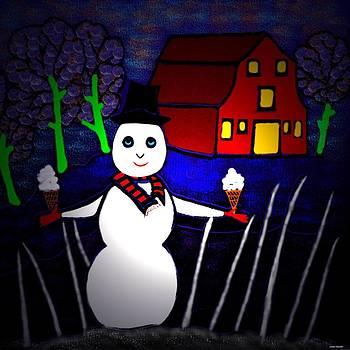 Snowman by Latha Gokuldas Panicker