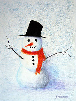 Snowman by Marna Edwards Flavell