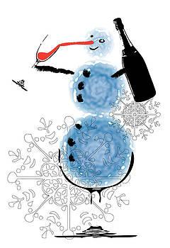 Snowman by Martin Navratil
