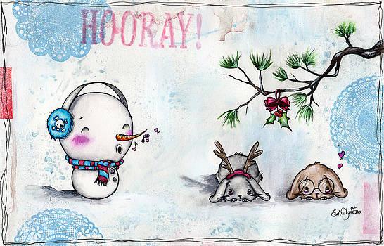 Snowman Serenade by Lizzy Love