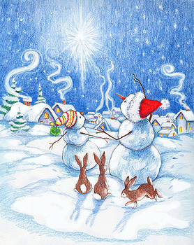Peggy Wilson - Snowmen and Christmas Star