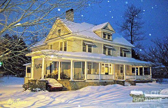 Snowy Carolina Evening by Lisa Jones