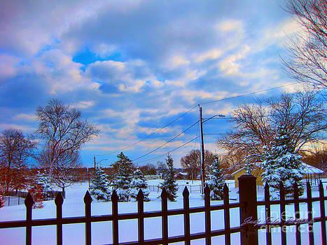 Snowy Day by Judy Palkimas