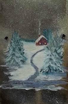 Snowy Evening by Linda McKenna