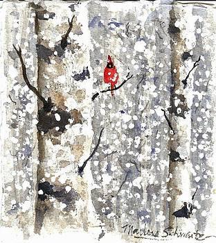 Snowy Hello by Marlene Schwartz Massey