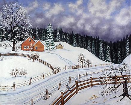 Linda Mears - Snowy Hill
