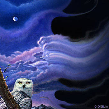 Snowy Owl Fantasy by Rich DiSilvio