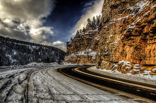 Snowy Pass by Kasey Cline