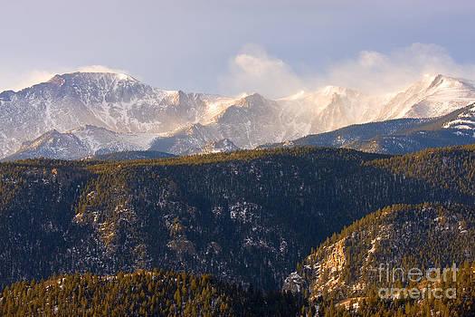 Steve Krull - Snowy Pikes Peak