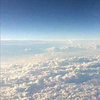 So High Above The Clouds. #flying by Matthew Tarro
