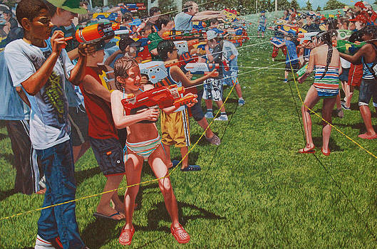 Soakerfest Warrior Cohorts by Allan OMarra