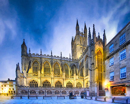 Mark Tisdale - Soaring Perpendicular Gothic Architecture of Bath Abbey
