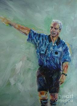 Soccer Referee by Vicki Wynberg