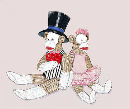Peggy Wilson - Sock Monkey Love